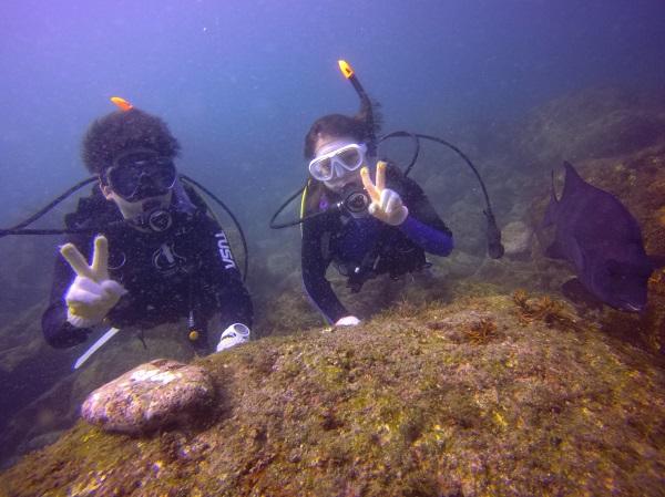 20181010伊豆 ダイビング 伊豆海洋公園 ライセンス講習3