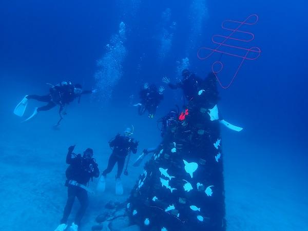 20190101伊豆 ダイビング 伊豆海洋公園 ダイビングスクール