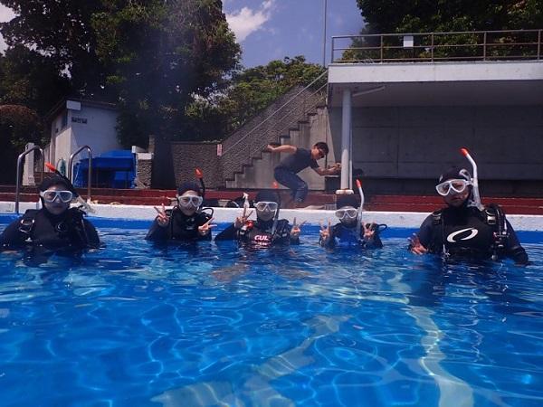 20190502伊豆 ダイビング 伊豆海洋公園 ダイビングスクール