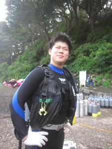 130823伊豆 富戸体験ダイビング1
