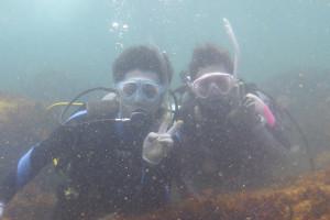 130818伊豆 海洋公園体験ダイビング1