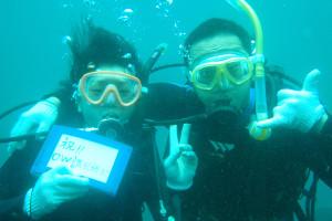 130817伊豆 海洋公園ダイビングライセンスコース2