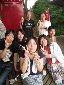 130908伊豆 海洋公園ぐり茶ソフト