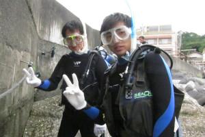 130910伊豆 八幡野体験ダイビング1