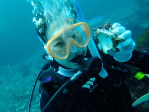 20140707伊豆 海洋公園 体験ダイビング1