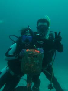 20140713伊豆 海洋公園水中ポスト1