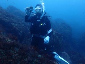 20141001伊豆 ダイビング 伊豆海洋公園ブランクダイバー2