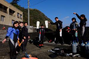 20141221伊豆 ダイビング 富戸ボートダイビング1