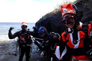 20141224伊豆 ダイビング 伊豆海洋公園クリスマスダイビング1