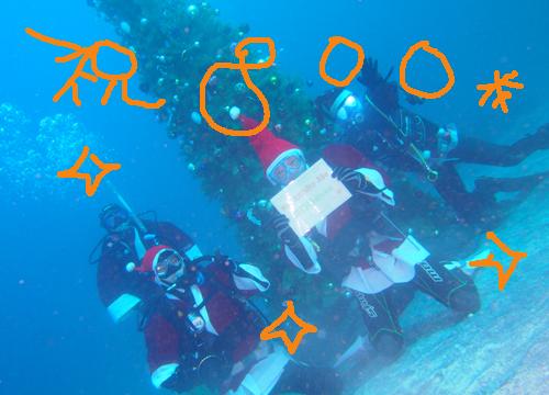 20151121伊豆 ダイビング 伊豆海洋公園 記念ダイブ
