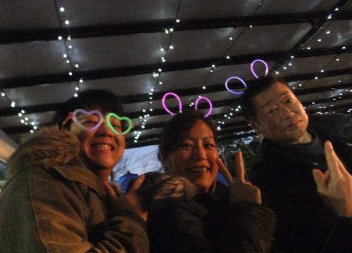 20151231伊豆 ダイビング 伊豆海洋公園 大晦日ナイト (1)