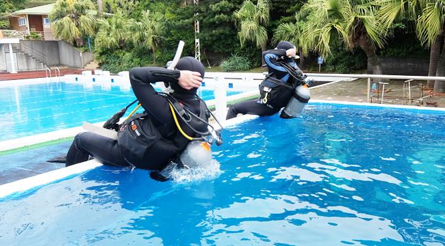 20160506伊豆 ダイビング 伊豆海洋公園 ライセンス取得講習 (1)