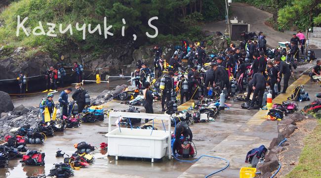 20160918伊豆 ダイビング 伊豆海洋公園 連休