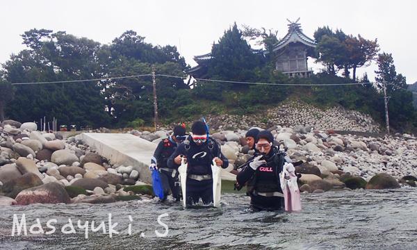 20161013伊豆 ダイビング 大瀬崎 初心者