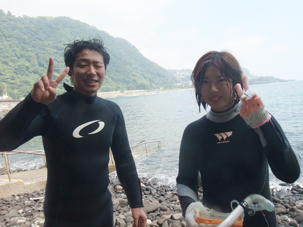 20170731伊豆 体験ダイビング