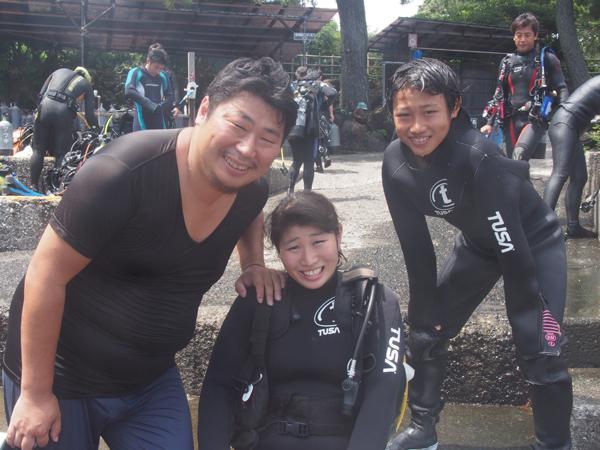 20170819伊豆 ダイビング 伊豆海洋公園