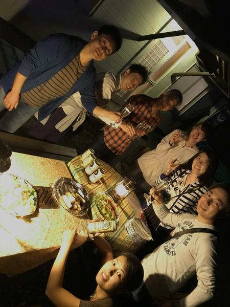 20171007伊豆 ダイビング BBQ