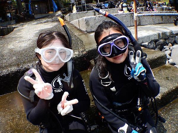 20180815伊豆 ダイビング 伊豆海洋公園 ダイビングスクール