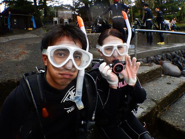 20180915伊豆 体験ダイビング 伊豆海洋公園