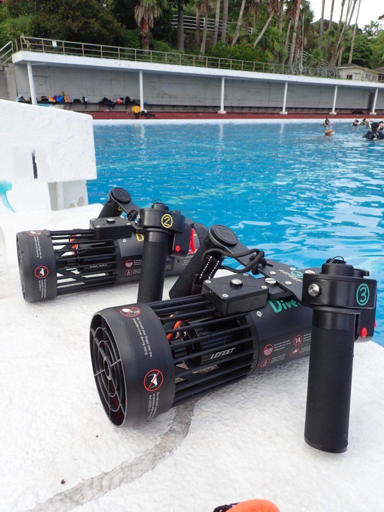 LEFEET S1 最新型水中スクーター
